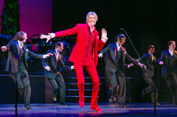 "Tommy Tune in ""Lady, Be Good!"" Credit Sara Krulwich/The New York Times"