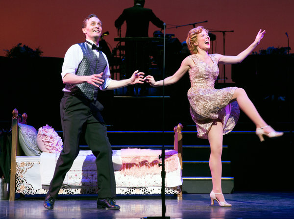 "Danny Gardner and Patti Murin in ""Lady, Be Good!"" Credit Sara Krulwich/The New York Times"